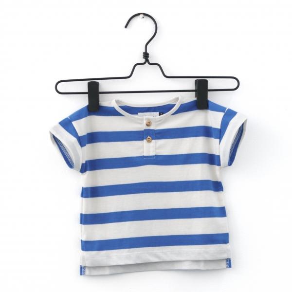 Piupia blue stripes tee