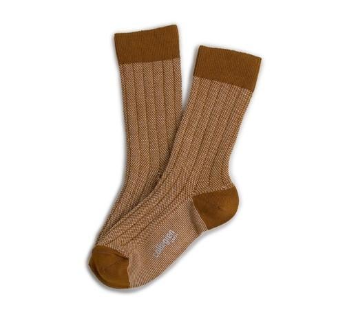 """Socken """"Herritage 70"""" Moutarde"""
