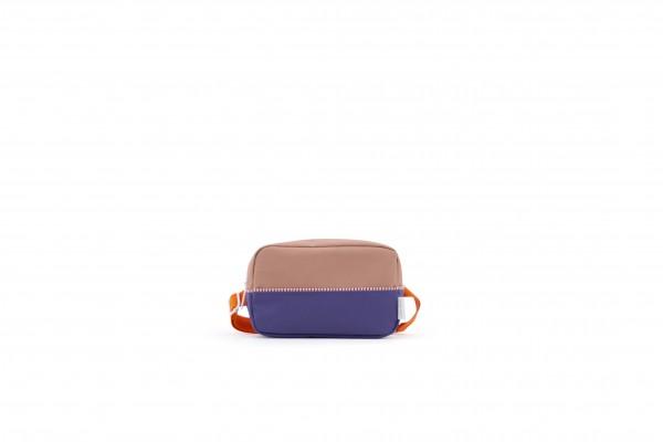 Sticky Lemon Gürteltasche Hip bag Fanny LARGE, purple/chocolat/orange