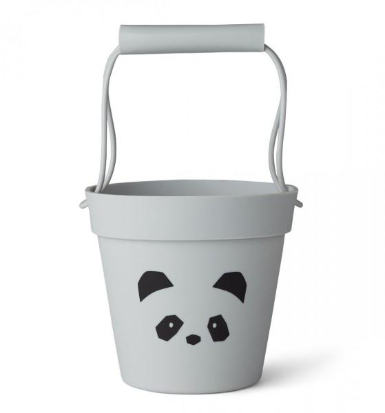 Liewood Eimer Panda, grau