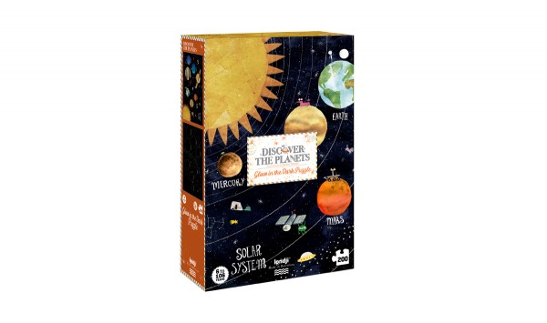 Londji Puzzle, Discover the planets