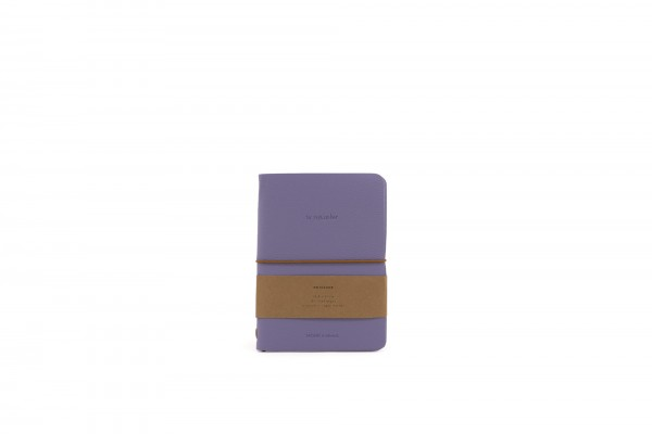 Monk&Anna HVegan Leather Notebook, Lilac