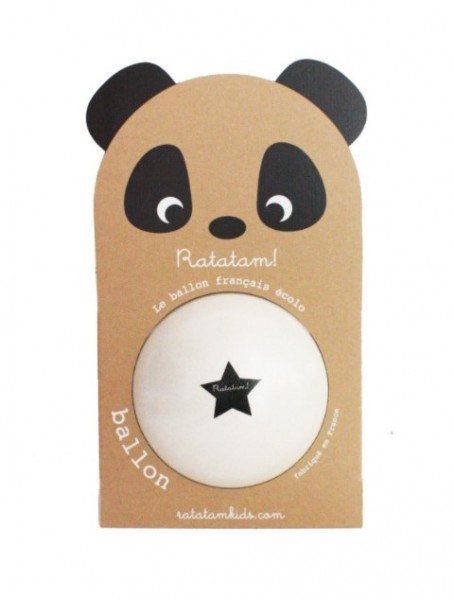 Ratatam Panda Ball Weiss, Big