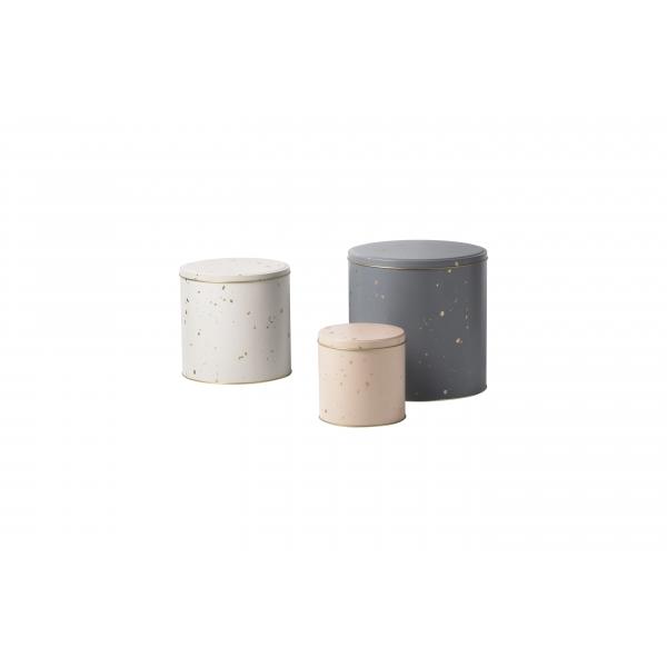 Ferm LIVING Tin Boxes Confetti