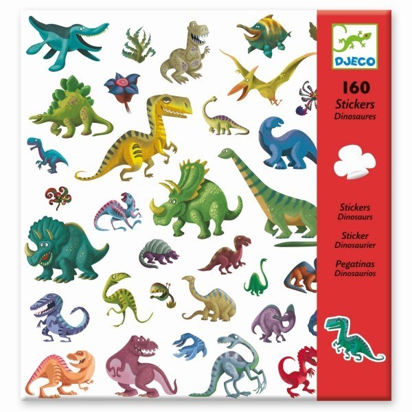 djeco Sticker, Dinosaurier