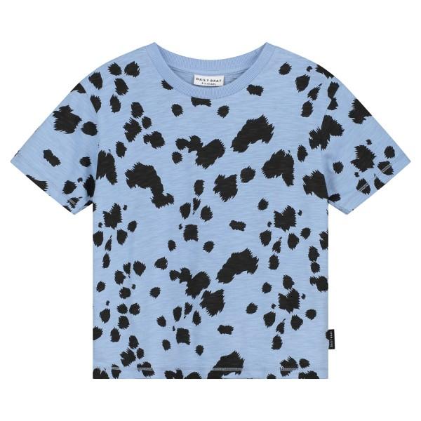 Daily Brat T-shirt Dalmatian, Serenity blue