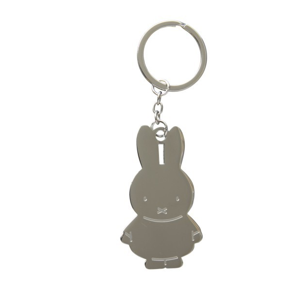 Schlüsselanhänger Miffy, Silber