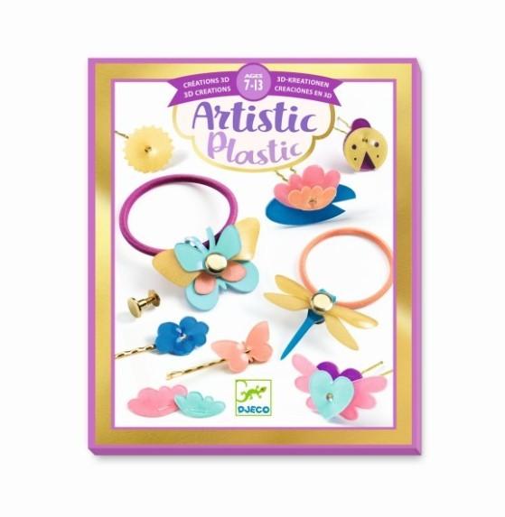 Djeco Artistic Plastic - Hairstyling Zubehör
