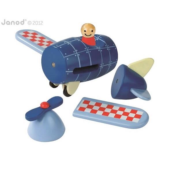 Janod Magnetset Flugzeug