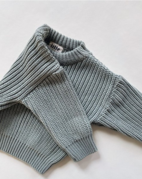 """Lille Sweater """"Chunky"""", Green"""