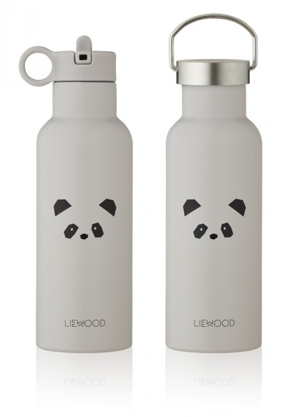 "Liewood Trinkflasche ""Neo"", Panda, light grey"