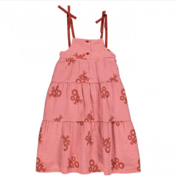 """Piupiuchick Langes Kleid Pink """"Kamera"""""""
