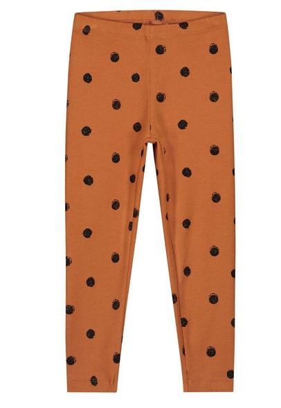 Daily Brat Pants, Polka Colombia Brown