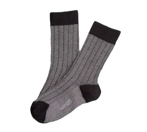 "Socken ""Herritage 70"" Noir/Blanc"