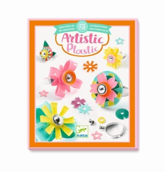 Djeco Artistic Plastic - Ringe