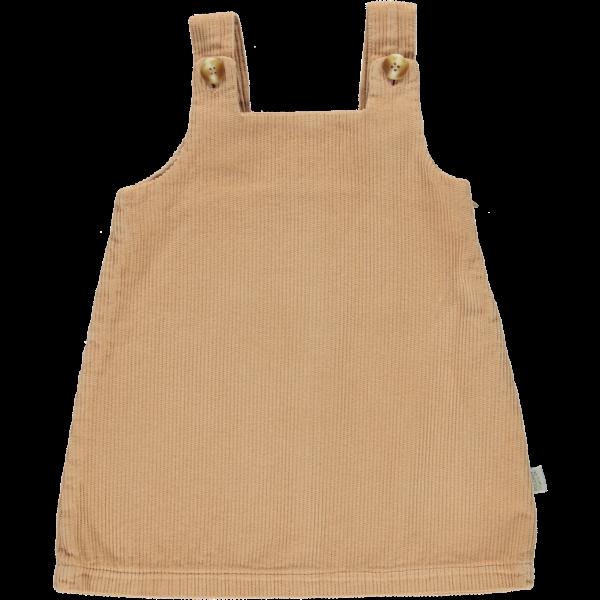Poudre Organic Cord Kleid Moka Indian Tan