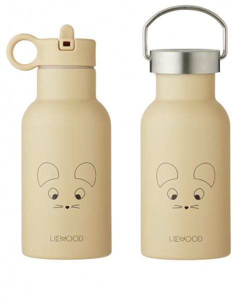 """Liewood Trinkflasche """"Anker"""", Mouse, Wheat Yellow"""