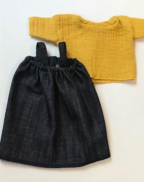 Minikane, Shirt&Jeanskleid Set