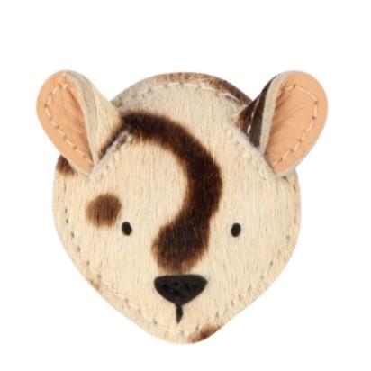 Donsje Josy Hairclip Exclusive , Haarspange ´Snow Leopard