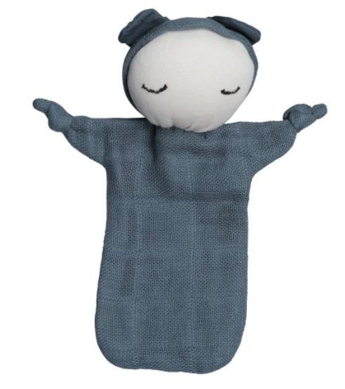 """Fabelab Schnuffeltuch """"Cuddle Doll"""", Blue Spruce"""