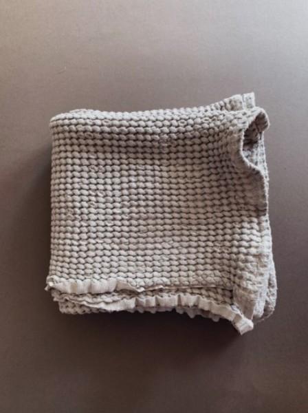 Lille Decke, Leinen&Baumwolle, Beige
