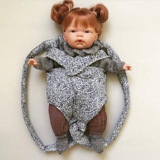 Elselil Puppe-Babytrage Liberty Katie&Millie