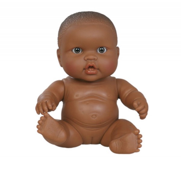 Paola Reina Puppe, Baby Doll African Girl,klein