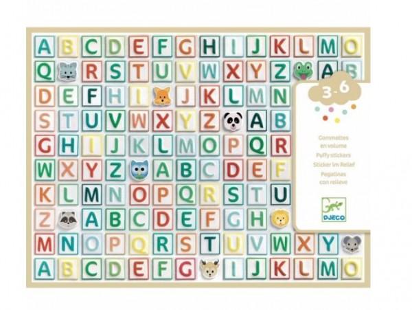 """Djeco Sticker """"Buchstaben"""""""