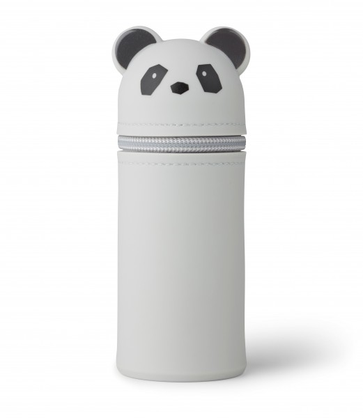 "Liewood Stifteetui ""Vitus Pencil Case"" Panda, grey"