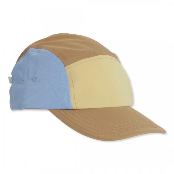 """Konges slojd Cap , Kappe , """" Regular Golden Haze/Hydra Blue"""""""