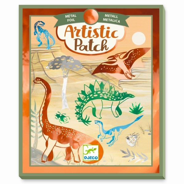 Djeco Kollagen Artistic Patch - Dinosaurier