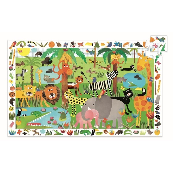 Djeco Puzzle Observation Jungle