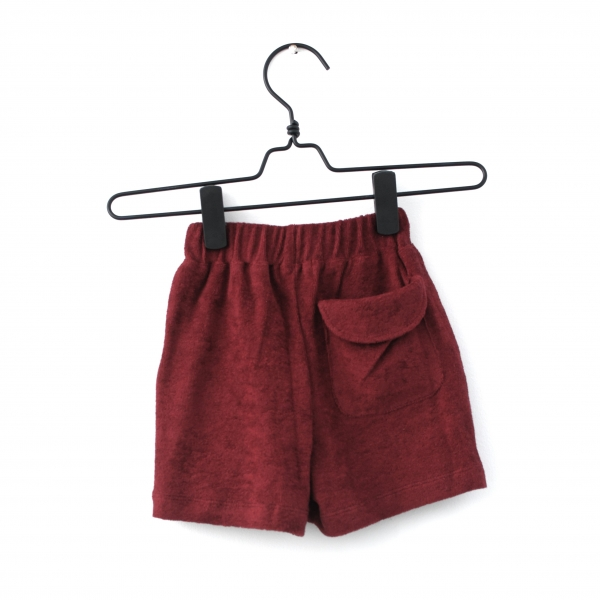 Piupia Dark Red Shorts