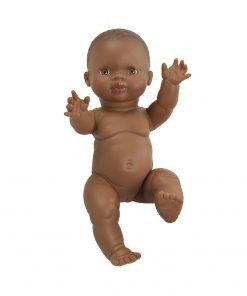 Paola Reina Baby Doll African Boy, Puppe groß