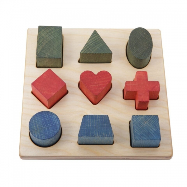 WoodenStory Steckpuzzle Shapes