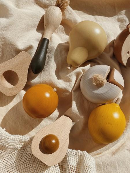 "Konges Slojd ""Obst - & Gemüse-Set"" aus Holz"