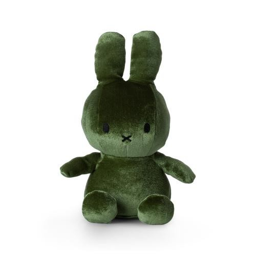 Miffy samt, grün
