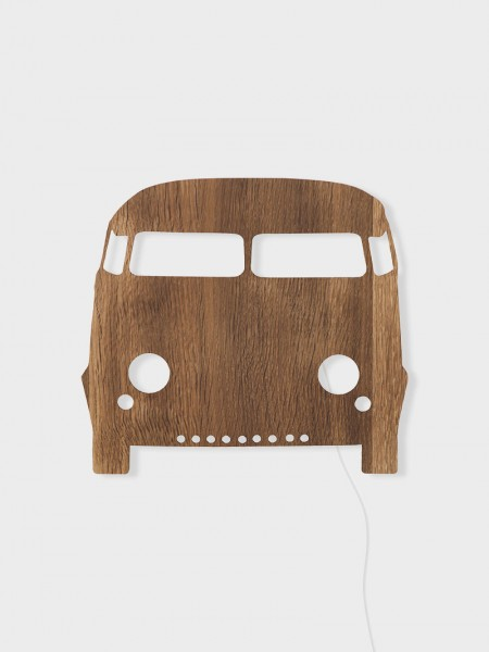 Ferm LIVING Car Wandampe Smoked Oak