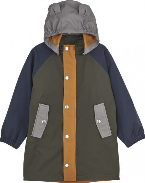 "Liewood Regenjacke ""Spencer"", Hunter green multi mix"