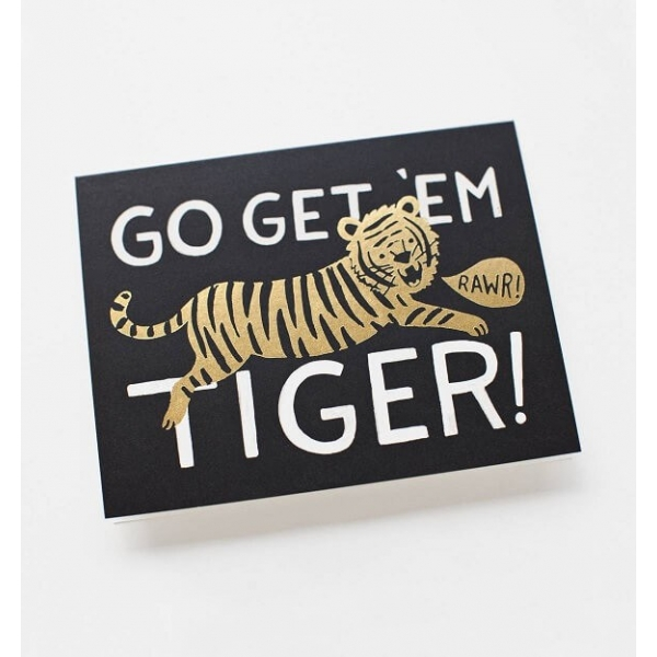 Rifle Paper Co. Go Get 'Em Tiger