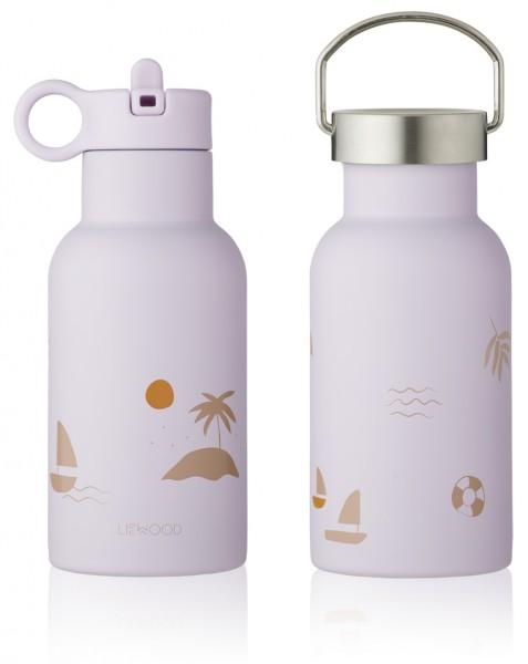 "Liewood Trinkflasche ""Anker"", Seaside light lavender"