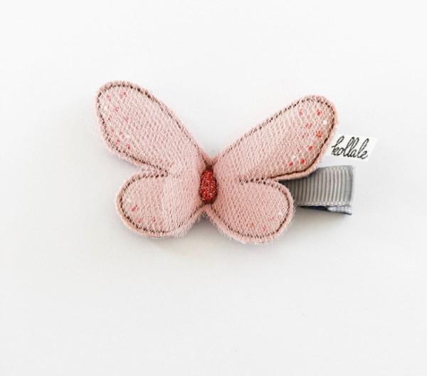 Kollale Haarspange Schmetterling