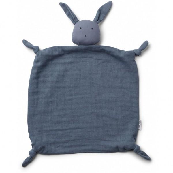 Liewood Schnuffeltuch Agnete Rabbit, blue wave