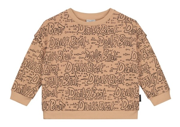 Daily Brat Sweater, caramel swirl