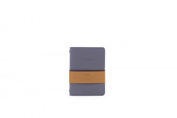 Monk&Anna HVegan Leather Notebook, Faded Blue