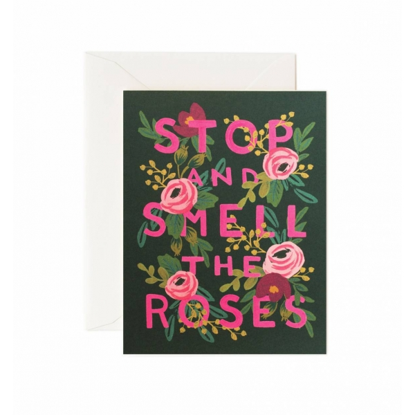 Rifle Paper Co. Stop and Smell the Roses