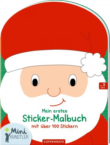 """Mein erstes Sticker- Malbuch """"Weinachten"""""""