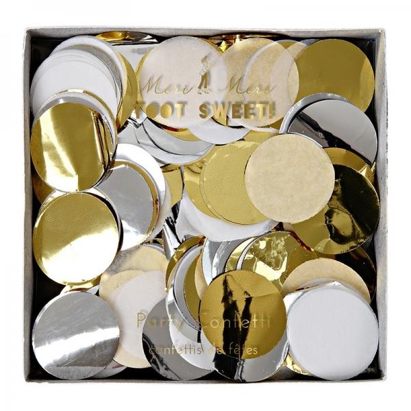 Meri Meri Party Konfetti Toot Sweet, Gold