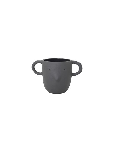 Ferm Living Mus Plant - Dark grey, big