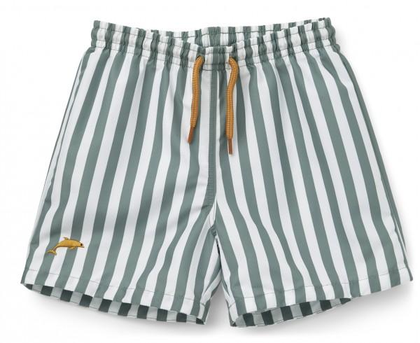 "Liewood Badeshorts, ""Duke Board Shorts"", peppermint/white"